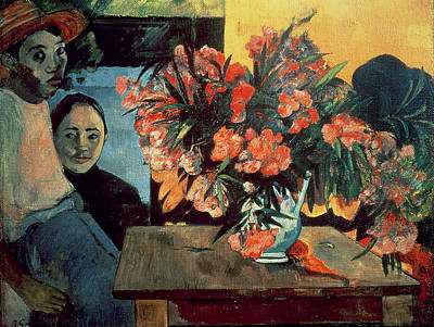 Tiare Painting - Flowers Of France by Paul Gauguin