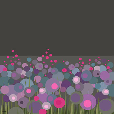 Blooming Digital Art - Flowers Still Blooming by Val Arie