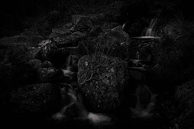 Flowing Dark Print by Tim Haynes