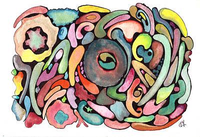 Fluid Disorder Original by Vittorio Magaletti