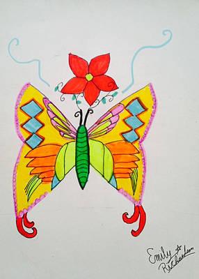 Fluttering Spirit Original by Emily Richardson