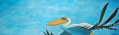 Sea Birds Painting - Fly Far Away by Stephanie Troxell