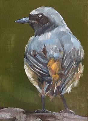 Flycatcher Original by Gary Bruton