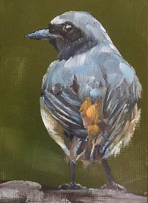 Flycatcher Painting - Flycatcher by Gary Bruton