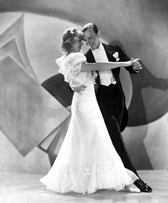 Evening Gown Photograph - Flying Down To Rio, Ginger Rogers, Fred by Everett