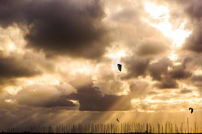 St.kilda Photograph - Flying High by James Thomas