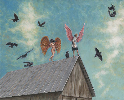 Flying Lessons Original by Holly Wood