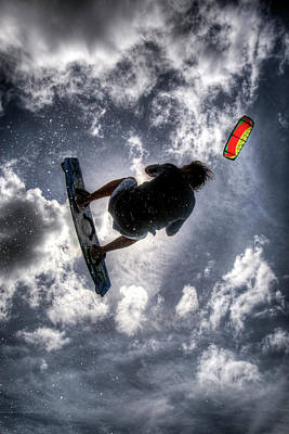 Flying  Print by Nick  Shirghio