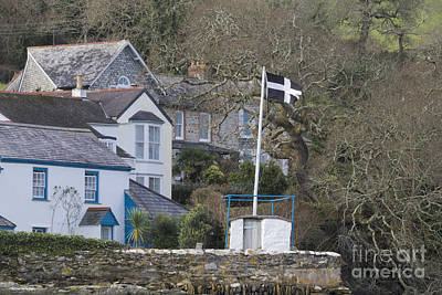 Flying The Flag For Cornwall Print by Terri Waters