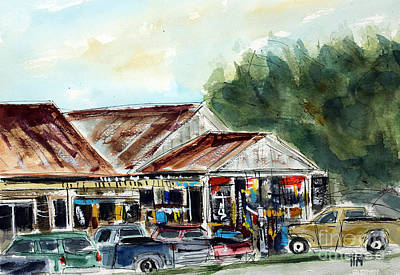 Leipers Fork Painting - Fly's Place by Tim Ross