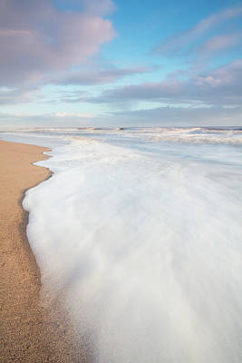 Beach Photograph - Foam by Anthony Mitchell