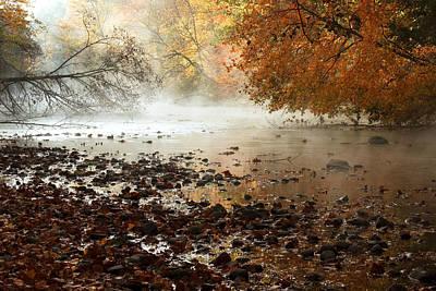 Fog And Color Print by Amanda Kiplinger