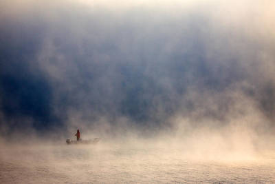 Fishermen Photograph - Fog by Fproject - Przemyslaw Kruk