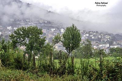 Fog Over Village  Original by Fatos Islami