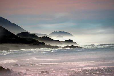 Photograph - Foggy Morning In Big Sur Ca Two by Joyce Dickens