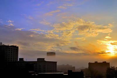 Csu Photograph - Foggy Morning by Tom Kilbane