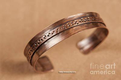 Fold Formed Copper Cuff Original by Melany Sarafis