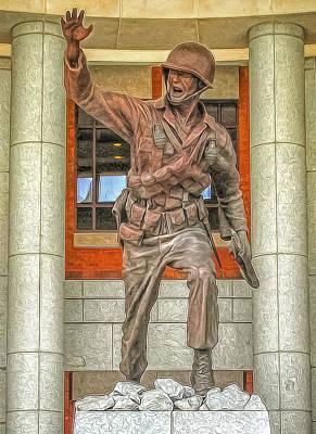 U.s Army Mixed Media - Follow Me by Marion Johnson