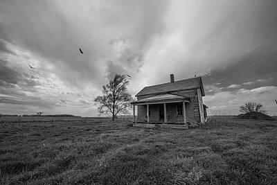 Buzzard Photograph - Follow The Buzzards by Aaron J Groen