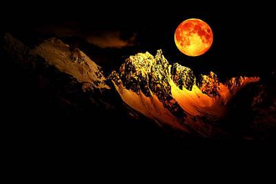 Follow Your Inner Moonlight Print by Michele Cornelius