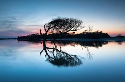 Last Strand Photograph - Folly Beach County Park Charleston South Carolina by Mark VanDyke