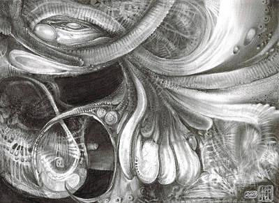 Fomorii Pod Print by Otto Rapp