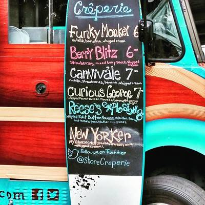 Truck Photograph - Funky Monkey Food Truck by Colleen Kammerer