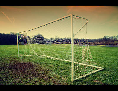 Sports Photograph - Football Goal by Federico Scotto