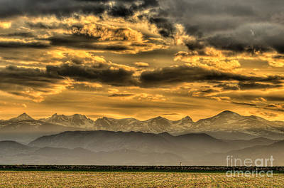 Photograph - Foothills And Gold by Greg Summers