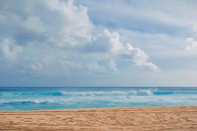 Beach Digital Art - Footprints by Lonnie Christopher
