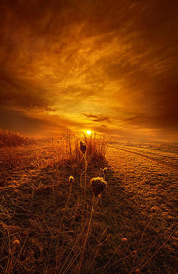 Heaven Photograph - For A Breath I Linger by Phil Koch