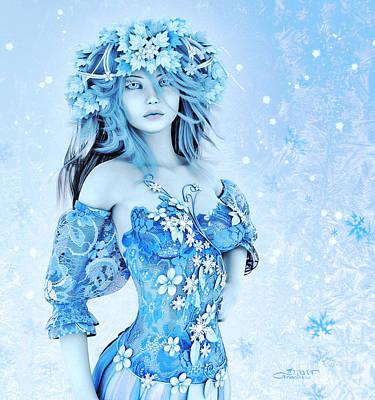 For All Winter Friends Print by Jutta Maria Pusl