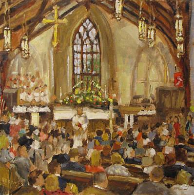 Van Dyke Painting - For The Memories by Barbara Davis