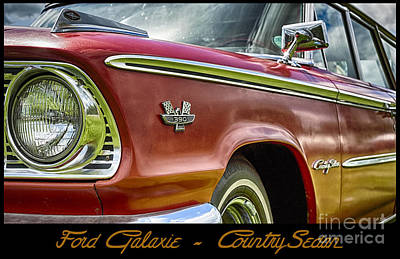 Ford 22 Print by Wendy Wilton