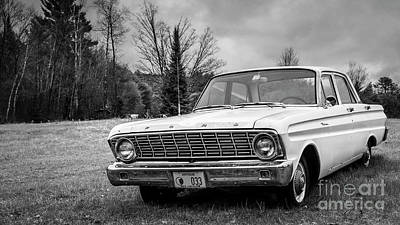 Relics Photograph - Ford Falcon Sedan by Edward Fielding