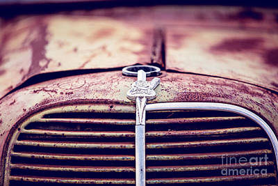 Photograph - Ford Grill by Scott Pellegrin