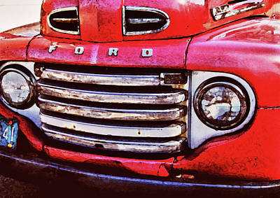 Ford Grille Original by Michael Thomas