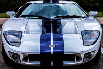 Carroll Shelby Photograph - Ford Gt by Jenn Evans