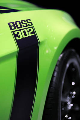 Ford Mustang - Boss 302 Print by Gordon Dean II