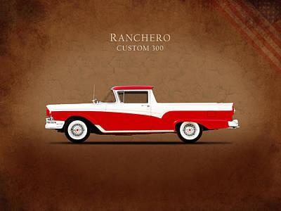 Photograph - Ford Ranchero 1957 by Mark Rogan