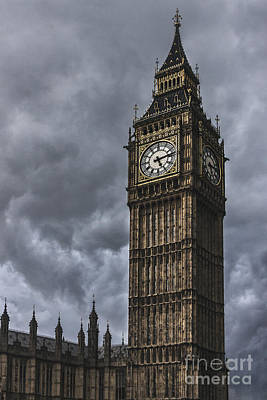 Grey Clouds Photograph - Foreboding by Andrew Paranavitana