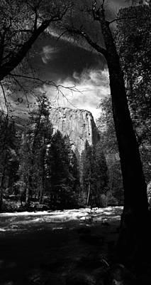 Yosemite Painting - Foreboding Spirit Of Yosemite by Michael Richardson