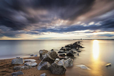 Stopper Photograph - Forecast Calls For Cloudy Skies by Edward Kreis