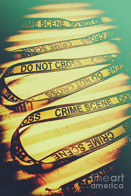 Forensic Csi Lab Details Print by Jorgo Photography - Wall Art Gallery
