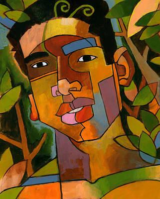 Stylized Painting - Forest Spirit by Douglas Simonson