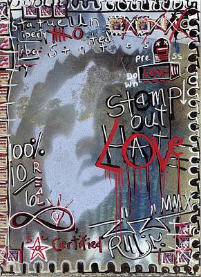 Follow Your Bliss Mixed Media - Forever Stamp by Robert Wolverton Jr