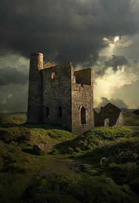 Forgotten Castle Print by Jaroslaw Blaminsky