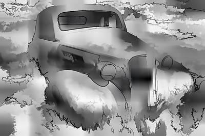 Rustic Digital Art Digital Art - Forgotten Legacy II by Jon Glaser