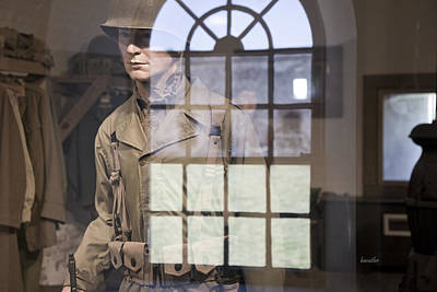 Fort Macon Through Glass Print by Betsy C Knapp
