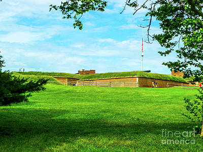 Fort Mchenry Baltimore Print by William Rogers